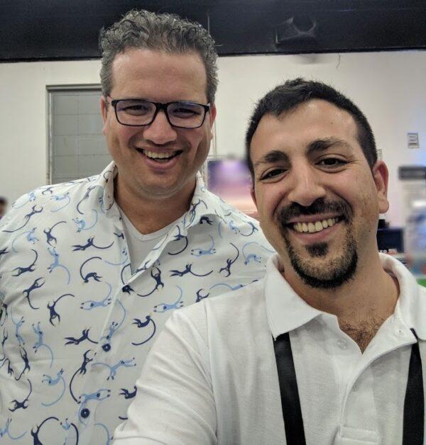 """אלעד לוי מנכ""""ל שקוף מדיה עם Joost de Valk יוצר תוסף ה SEO המוביל YOAST"""