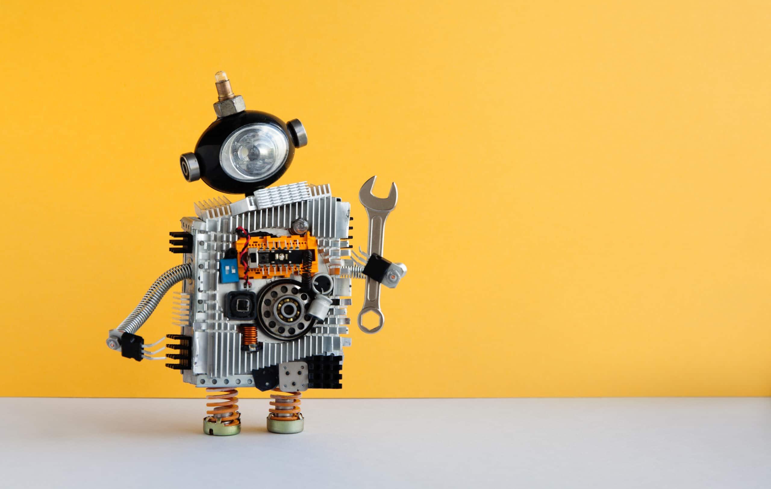 רובוט שדרוג אתר